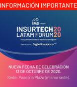 Insurtech LATAM Forum 2020 – NUEVA FECHA